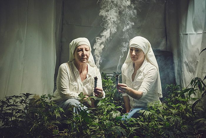 Recentlywe coveredtheSisters of the Valley– nuns in California growing marijuana and turning it into remedies for all kinds of illnesses. And it shouldn't come as a surprise that Photoshop ...